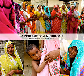 Amy Wright – artist, activist, and author of A Portrait of a Microloan. image