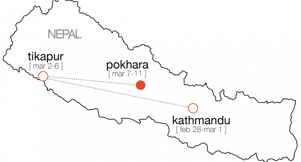 We are in Pokhara! image