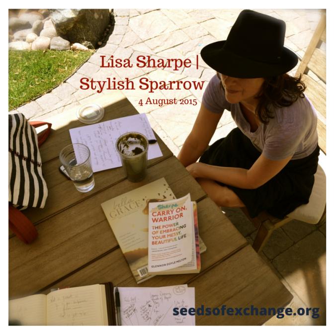 Lisa Sharpe | Stylish Sparrow