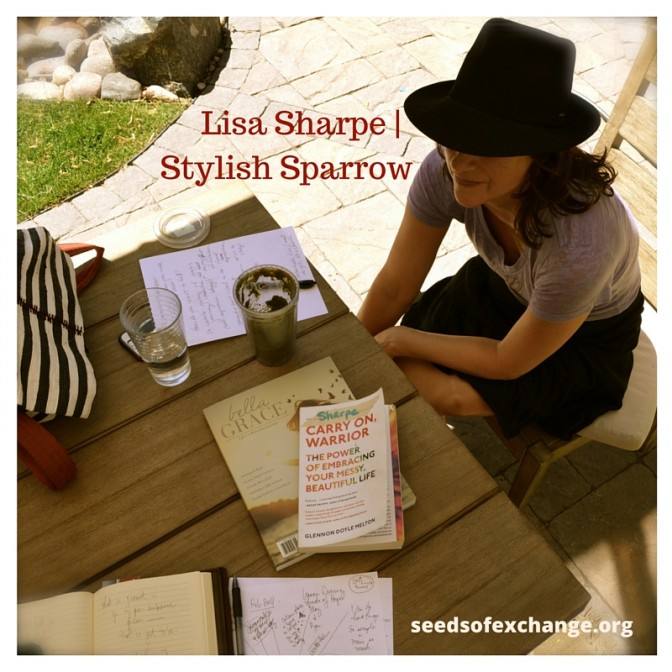 Lisa Sharpe | Stylish Sparrow