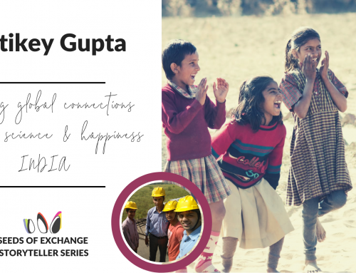 Igniting global connections through science & happiness: Kartikey Gupta | INDIA