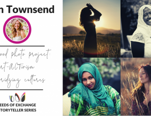 Art-ACTivism & bridging cultures with the Sisterhood Photo Project