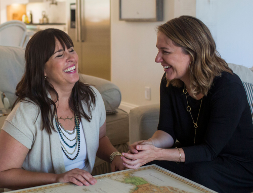 Difference-making social entrepreneurs & best friends – Kara Valentine & Angela Melfi | Threads Worldwide
